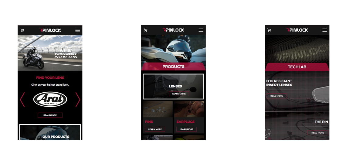 Pinlock mobile design